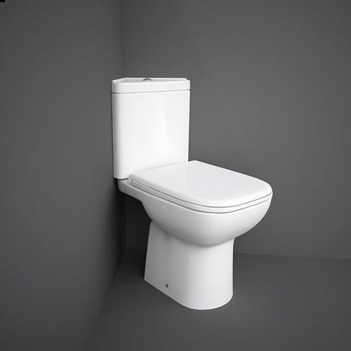 RAK Ceramics Origin 62 Corner Close Coupled Toilet with Soft Close Seat