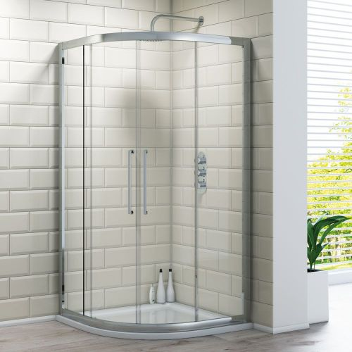 Quadrant Shower Enclosure - Kaso 8 by Voda Design (8mm Thick)