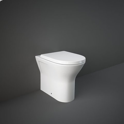 RAK Ceramics Resort Extra Comfort Height Back to Wall Toilet with Soft Close Seat