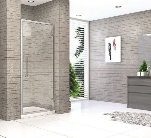 Pivot Shower Door - Kaso 8 by Voda Design (8mm Thick)