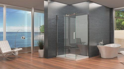 Synergy Vodas 8mm Frameless Sliding Shower Door