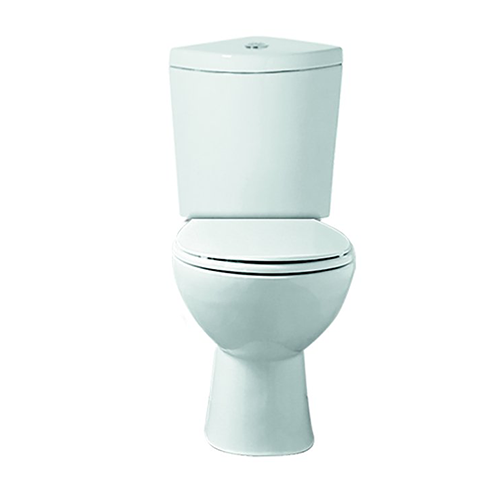 Synergy Galaxia CC Pan with Corner Cistern, Fittings and Soft Close Seat