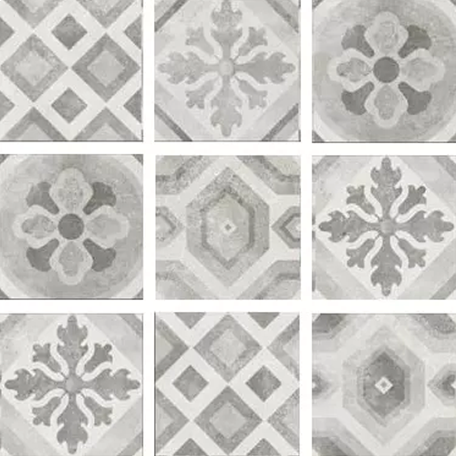 RAK Ceramics Surface 2.0 Grey Decor Tiles (30 x 30)