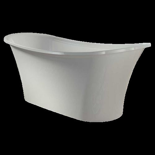 Voda Design Karla Solid Surface Stonecast Bath 1600mm