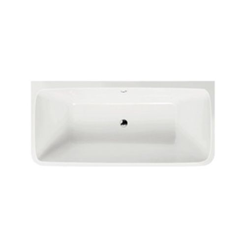 Freestanding Back To Wall Square Bath 1800mm - Kilmory By Synergy