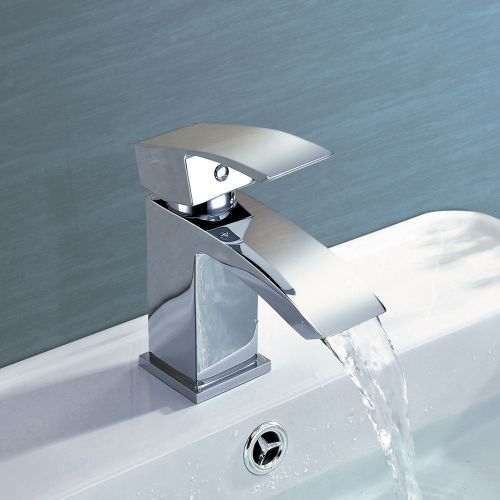 Irwell Mini Mono Basin Mixer - By Voda Design