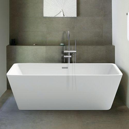 Freestanding Modern Double Ended Bath 1700mm - Martha By Voda Design