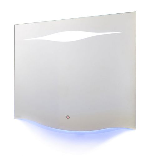 Hudson Reed Iona LED Touch Sensor Mirror with ambient lighting H700 x W900 x D30 mm - LQ071