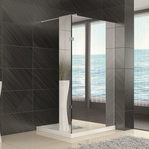 Synergy Vodas 8mm Mirror Finish Wetroom Panels - 1900mm High