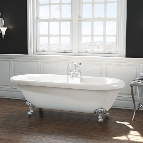 Freestanding Traditional Roll Top Bath  - Wilmslow By Synergy