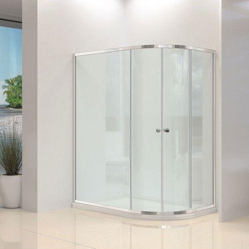 Synergy Vital/Avon 4mm Sliding Door Offset Quadrant Shower Enclosure