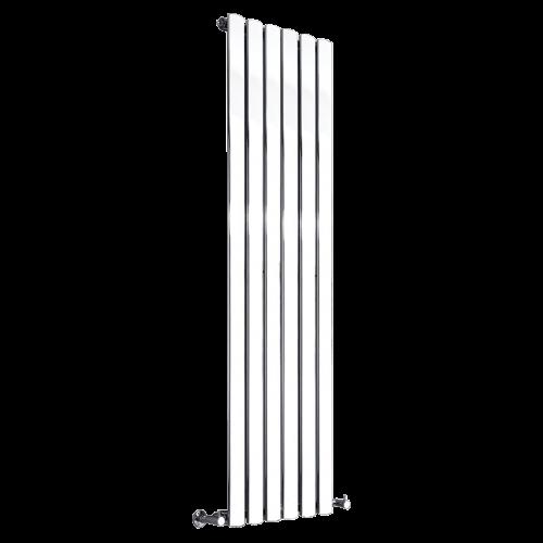 Revival Single Vertical White Radiator