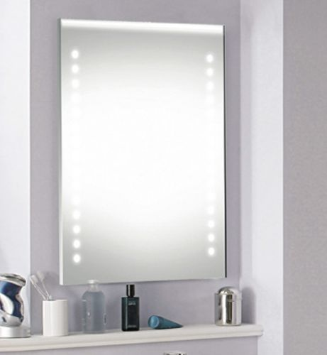 Synergy Roma Mirror With IR Switch LED Clock & Demister