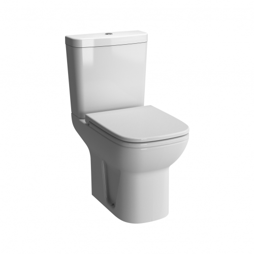 Vitra S20 Shrouded Open Back Close Coupled WC with Cistern and Seat