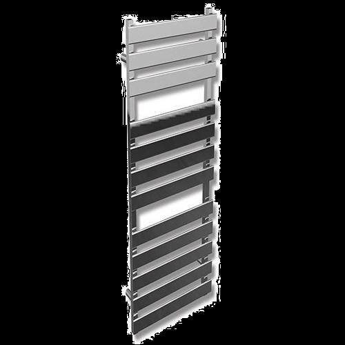 Saharah Flat Chrome Towel Rail