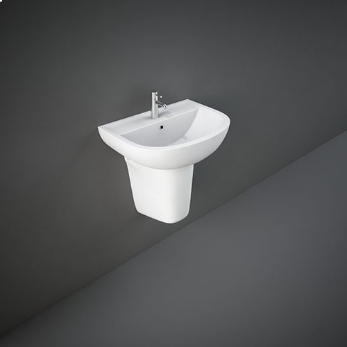 RAK Ceramics Compact Basin with Half Pedestal