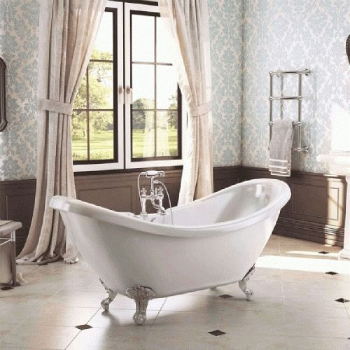 Freestanding Traditional Double Ended Bath 1750 mm - Shakespeare by Voda Design