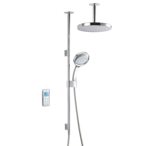 Mira Vision Dual Ceiling Fed Shower With Wireless Digital Control 1.1797.101 -  High Pressure