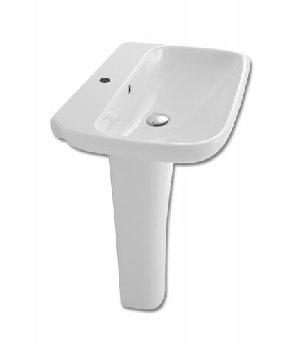 Olympia Clear Basin And Full Pedestal
