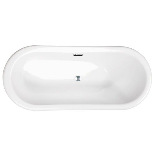 Freestanding Modern Slipper Double Ended bath 1830 mm - Ibiza by Synergy