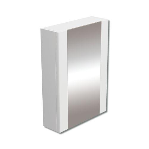 Synergy Newa Mirror Single Door White Cabinet