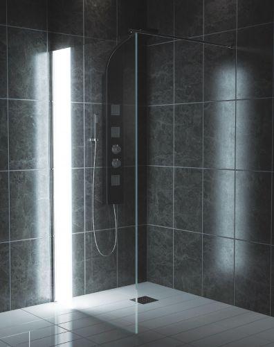 LED Wetroom Panel 1000mm - Kaso Illuminated by Voda Design