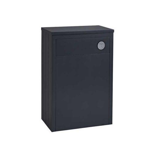 Tavistock Lansdown 600mm Back to Wall Toilet Unit - Matt Dark Grey