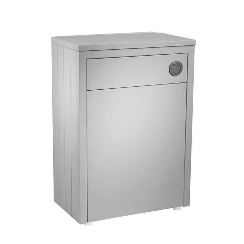 Tavistock Lansdown 600mm Back to Wall Toilet Unit - Pebble Grey
