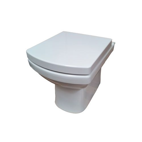 Tidy Back To Wall Toilet Pan
