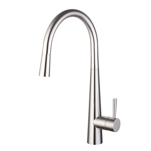Kuban Pull Out Spout Single Lever Kitchen Mixer Tap- By Voda Design