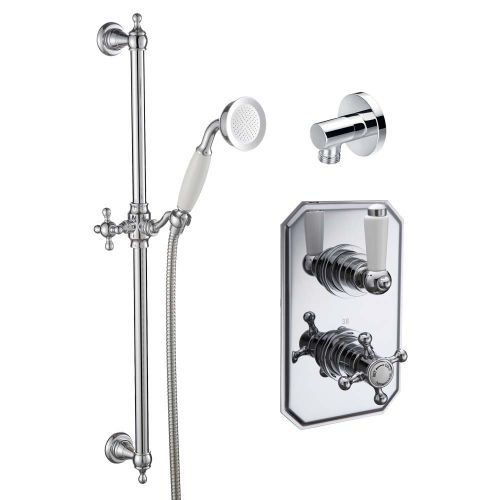 Tiber Traditional Concecealed Thermostatic Shower Set  - By Voda Design