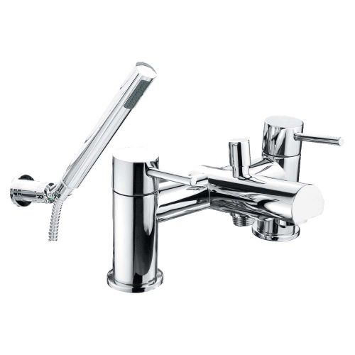 Solent Bath Shower Mixer with Shower Kit - By Voda Design
