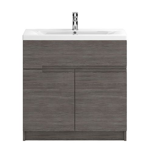 Hudson Reed Urban Grey Avola 800mm Floor Standing Vanity Unit With Basin 1 - URB528E