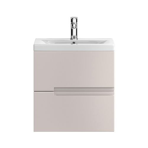 Hudson Reed Urban Cashmere 500mm Wall Hung Vanity Unit With Basin 2 - URB715