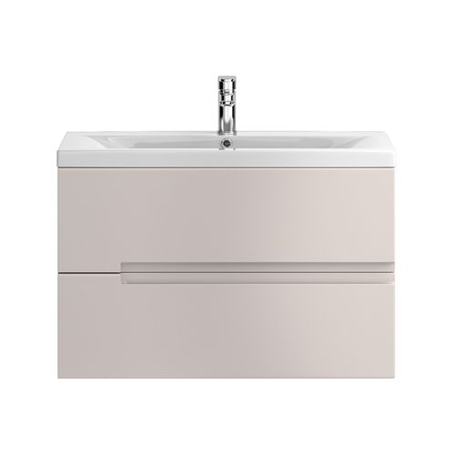 Hudson Reed Urban Cashmere 800mm Wall Hung Vanity Unit With Basin 1 - URB718E