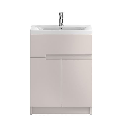 Hudson Reed Urban Cashmere 600mm Floor Standing Vanity Unit With Basin 2 - URB726