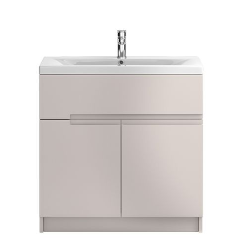 Hudson Reed Urban Cashmere 800mm Floor Standing Vanity Unit With Basin 2 - URB728