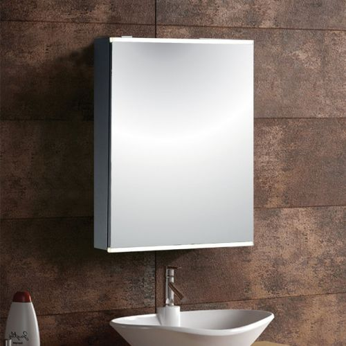 Mirror Cabinet 303 Aluminium - By Voda Design