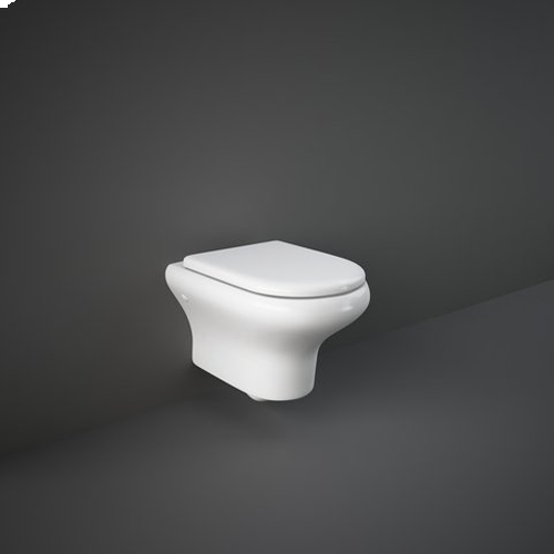 RAK Ceramics Compact Wall Hung Toilet with Soft Close Seat
