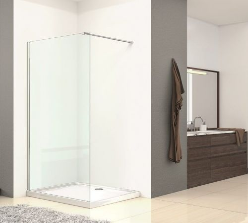 Walk In Shower Enclosure Wetroom Panel - Kaso 8 by Voda Design (8mm Thick)