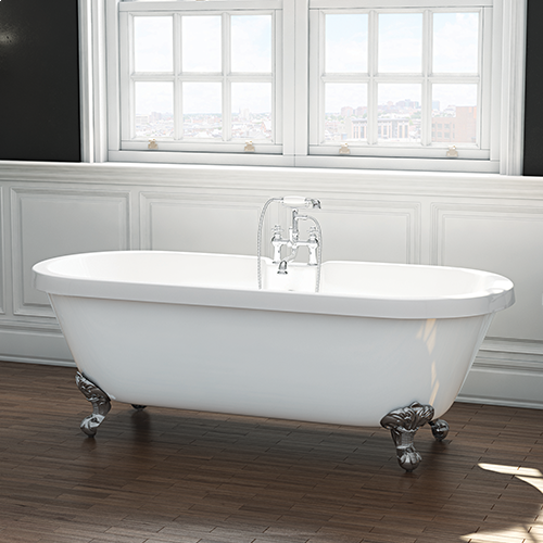 Freestanding Roll Top Traditional Double Ended Bath - Richmond by Voda Design