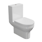 Synergy Alpha Close Coupled Modern Toilet Inc Soft Close Seat
