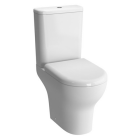 VitrA Zentrum Close Coupled Open Back WC with Cistern and Seat