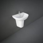 RAK Ceramics Compact Basin with Half Pedestal