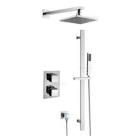 Square Fixed Head Thermostatic Concealed Shower System