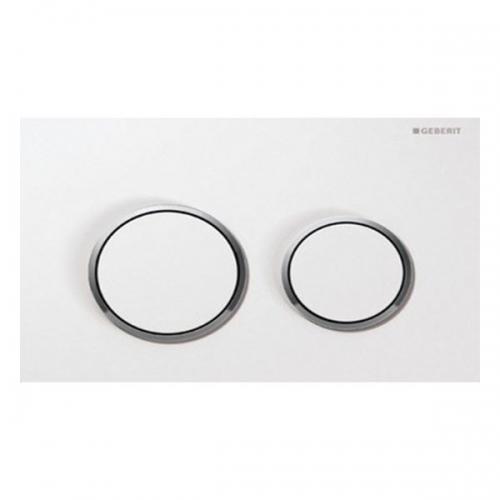 Geberit Omega20 Dual Flush Plate White 115.085.KJ.1
