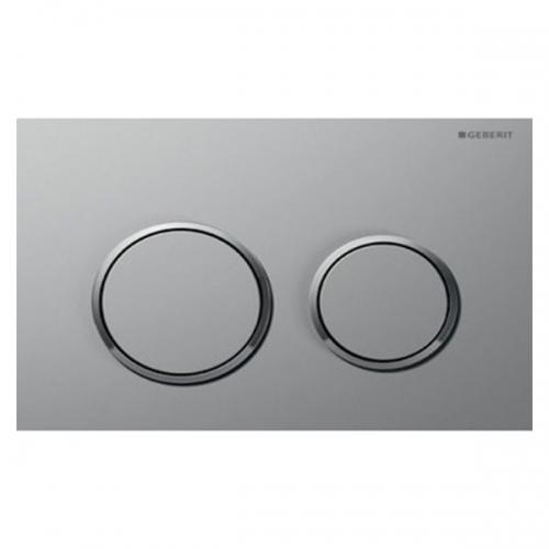 Geberit Omega20 Dual Flush Plate Matt Chrome 115.085.KN.1