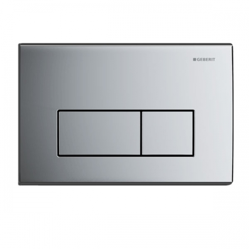 Geberit Kappa50 Dual Flush Plate Matt Chrome 115.260.46.1