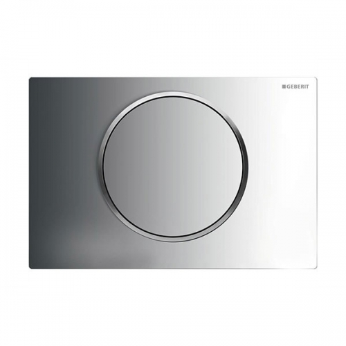 Geberit Sigma10 Single Flush Plate Chrome 115.758.KH.5