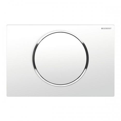 Geberit Sigma 10 Single Flush Plate White Gloss 115.758.KJ.5
